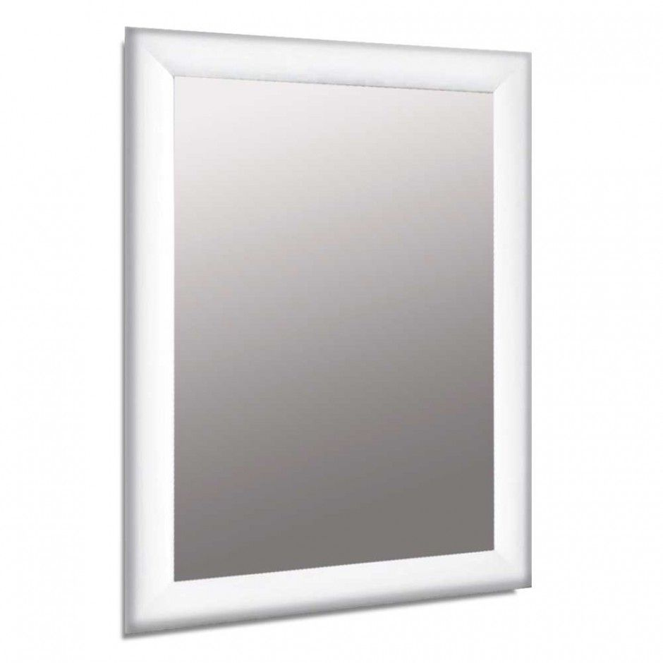 25mm White SNAP Front Opening Poster Frame A1